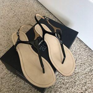Saks Fifth Avenue sandals, Blue label